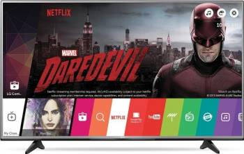 Televizor LED 139cm LG 55UH6157 4K UHD Smart TV Televizoare LCD LED