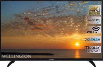 Televizor LED 140cm Wellington 55UHDV296SW 4K UHD Smart TV Televizoare LCD LED