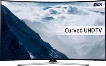 Televizor LED 163 cm Samsung UE65KU6100 UHD 4K Smart TV Curbat