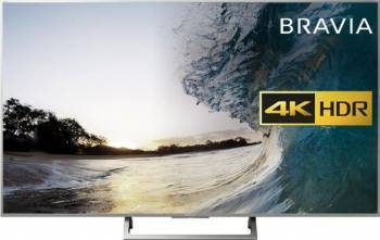 Televizor LED 164 cm Sony 65XE8577 4K UHD Smart Tv Android Silver Televizoare LCD LED