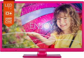 Televizor LED 60 cm Horizon 24HL712H HD UltraSLIM Roz 5 ani garantie Televizoare LCD LED