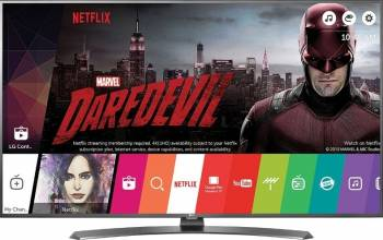 Televizor LED 109 cm LG 43UH661V 4K UHD Smart TV  Televizoare LCD LED