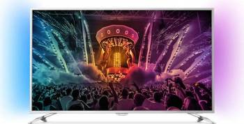 Televizor LED 109 cm Philips 43pus6501 4K UHD Smart Tv Ambilight Android