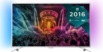 Televizor LED 124 cm Philips 49PUS6501/12 4K UHD Smart TV Ambilight Android Televizoare LCD LED