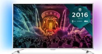Televizor LED 140 cm Philips 55PUS6501 4K UHD Smart Tv Ambilight Android Tv