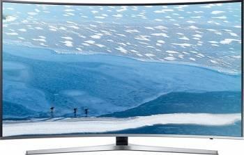 Televizor LED 140 cm Samsung 55KU6672 4K UHD Smart Tv Ecran curbat Televizoare LCD LED
