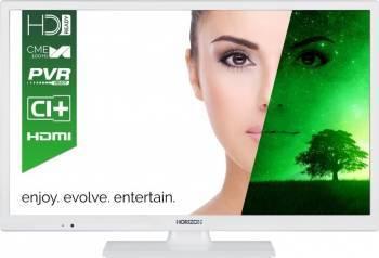 Televizor LED 61 cm Horizon 24HL7101H HD Alb 3 ani garantie Televizoare LCD LED