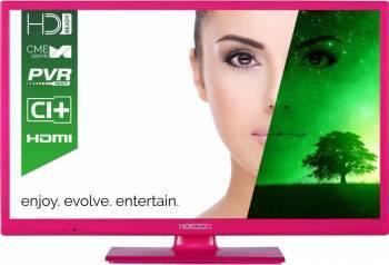 Televizor LED 61cm Horizon 24HL7102H HD Roz 3 ani garantie Televizoare LCD LED