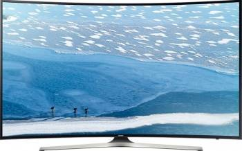 Televizor LED 165 cm Samsung 65KU6172 4K UHD Smart Tv Ecran curbat Televizoare LCD LED
