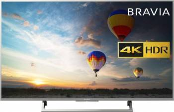 Televizor LED 108cm Sony 43XE8077 4K UHD Smart TV Android Resigilat Televizoare LCD LED