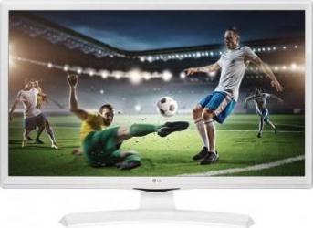 Televizor Monitor LED 60cm LG 24MT49VW HD Alb Televizoare LCD LED