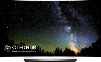 Televizor OLED 139cm LG OLED55C6V 4K UHD 3D Smart TV Curbat Televizoare LCD LED