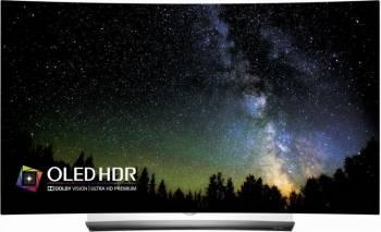 Televizor OLED 164 cm LG OLED65C6V 4K UHD Smart Tv 3D Ecran Curbat Televizoare LCD LED