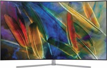 Televizor QLED 123 Samsung 49Q7C UHD 4K Smart TV Curbat Televizoare LCD LED