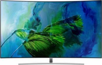 Televizor QLED 189 cm Samsung 75Q8C UHD 4K Smart Tv Curbat Televizoare LCD LED