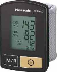 Tensiometru de incheietura Panasonic EW-BW03K800 Black Tensiometre