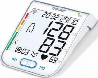 Tensiometru electronic de brat cu sistem WHO Beurer BM75 Tensiometre