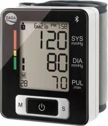Tensiometru pentru incheietura Daga FH-BPM 150 bluetooth 4.0 2x90 memorii setare 2 utilizatori conform normelor OMS dete Tensiometre