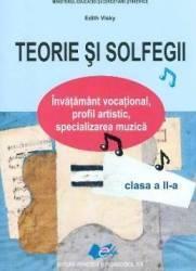 Teorie si solfegii Clasa 2 ed.2017 - Edith Visky
