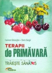 Terapii de primavara - Carmen Gheorghe Doris Oarga title=Terapii de primavara - Carmen Gheorghe Doris Oarga