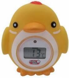 Termometru digital baie Primii Pasi forma animale Galben Cantare, termometre si aerosoli