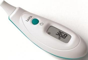 Termometru Digital cu Infrarosu pentru Ureche Cantare, termometre si aerosoli