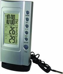Termometru digital Koch Klimatimer Basic 12907 Silver Termometre si Statii meteo