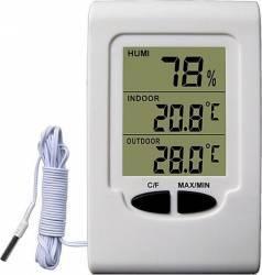Termometru Higrometru digital Koch 14511 Alb Cantare, termometre si aerosoli