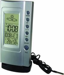 Termometru Higrometru digital Koch Klimatimer Plus 12707 Silver Termometre si Statii meteo