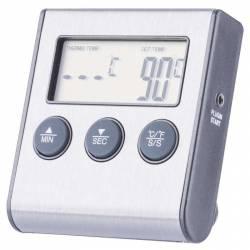 Termometru de carne digital de bucatarie cu sonda Termometre bucatarie