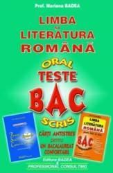 Teste bac - Limba si litearatura romana - Mariana Badea
