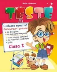 Teste cls 1 - Rodica Dinescu