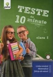Teste de 10 minute clasa 1 Carti