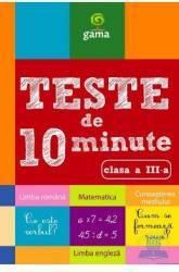 Teste de 10 minute clasa 3
