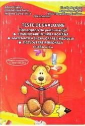Teste De Evaluare Clasa 2  Adina Grigore