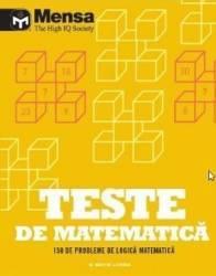 Teste de matematica. Mensa