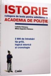 Teste Istorie Academia De Politie - Ludmila Petrescu