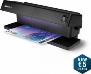 Tester bancnote Safescan 45 cu lampa UV 2x6W Masini de numarat bani