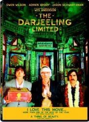 THE DARJEELING LIMITED DVD 2007