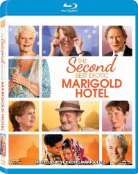The Second Best Exotic Marigold Hotel BluRay 2015 Filme BluRay