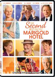The Second Best Exotic Marigold Hotel DVD 2015 Filme DVD
