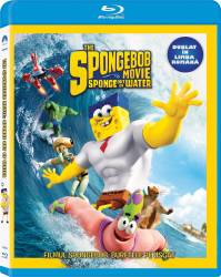 The SpongeBob Movie Sponge Out of Water BluRay 2015 Filme BluRay