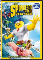The SpongeBob Movie Sponge Out of Water DVD 2015 Filme DVD