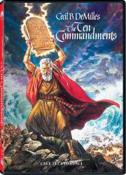 The Ten Commandments DVD 2 Discuri 1956 Filme DVD