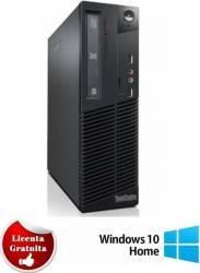Desktop Refurbished Lenovo ThinkCentre M82p Core i5-3470 4GB 250GB Win 10 Home Calculatoare Refurbished