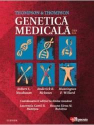 Thompson and Thompson. Genetica medicala Ed. 8 - Robert L. Nussbaum