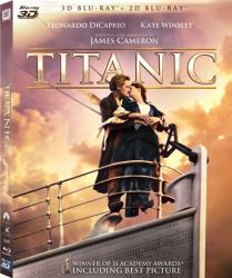 Titanic BluRay 3D 1997 Restored - 4 discs Filme BluRay 3D
