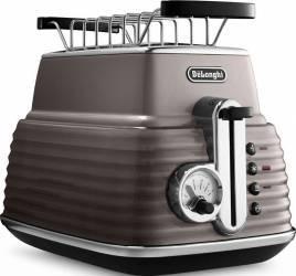 Toaster DeLonghi CTZ 2103.BG Otel Inoxidabil Bej 900W Prajitoare