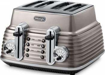 Toaster DeLonghi CTZ 4003.BG 1800W BEJ Prajitoare