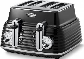 Toaster DeLonghi CTZ 4003.BK 1800W Black Prajitoare
